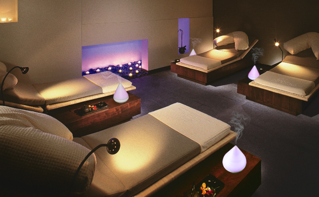 London Oriental Spa with Ultrasonic Essential Oil Diffuser