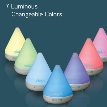 Gentle_Breezes Aroma diffuser luminous colors