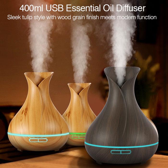 400ml tulip style aroma diffuser