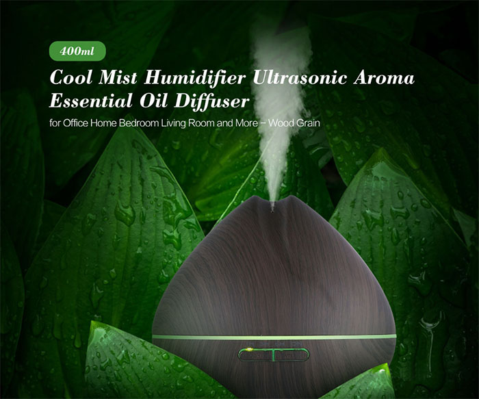 400ml Pear shaped ultrasonic aroma diffuser